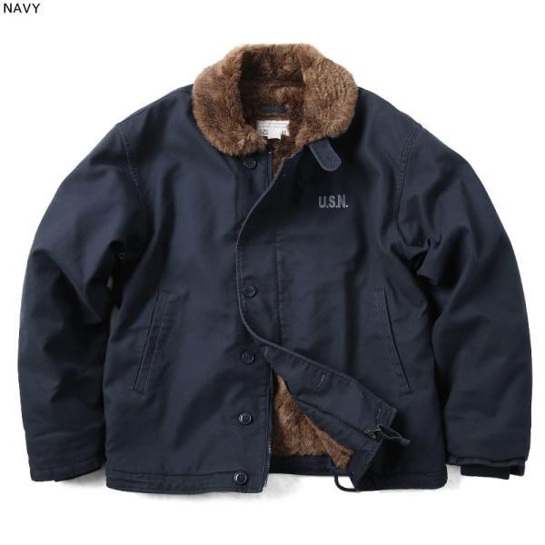 新品 米軍 N-1 デッキジャケット USED加工 4色 メンズ ミリタリージャケット ジャンパー ブルゾン アウター waiper 08