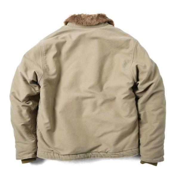 新品 米軍 N-1 デッキジャケット USED加工 4色 メンズ ミリタリージャケット ジャンパー ブルゾン アウター waiper 10
