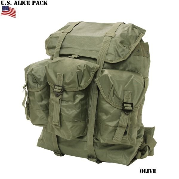 d75bbb3aa49a セール20%OFF!ミリタリーバッグ 新品 米軍 ALICE PACK アリスパック ...
