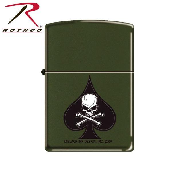 ROTHCO ロスコ Death Spade Zippo ライター 【4876】 ブランド【T】