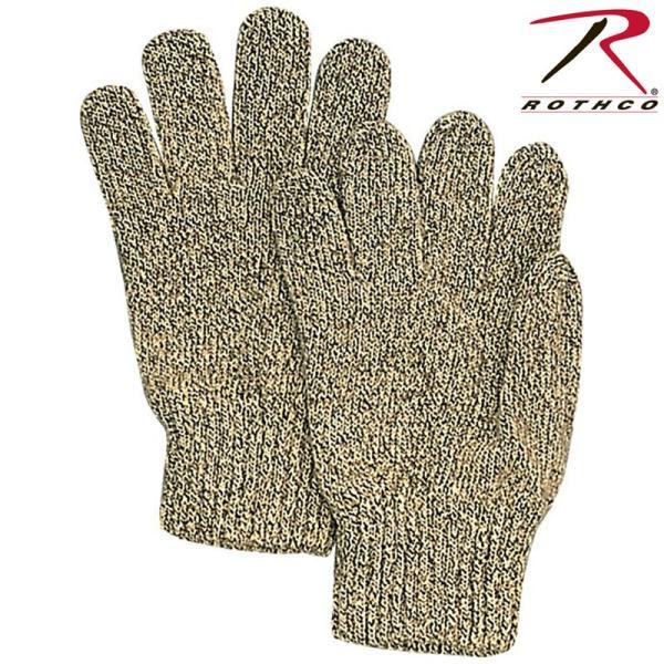 ROTHCO ロスコ RAGG WOOL グローブ MADE IN USA メンズ アメリカ製 ミリタリーグローブ ウール 手袋 無地 冬用 ブランド【8416】【T】