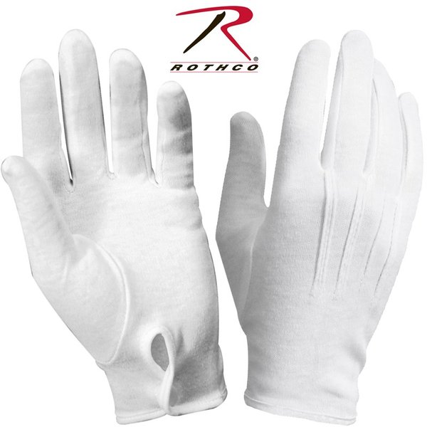 ROTHCO ロスコ パレード グローブ WHITE メンズ ミリタリーグローブ 手袋 薄手 無地 ブランド【4410】【T】