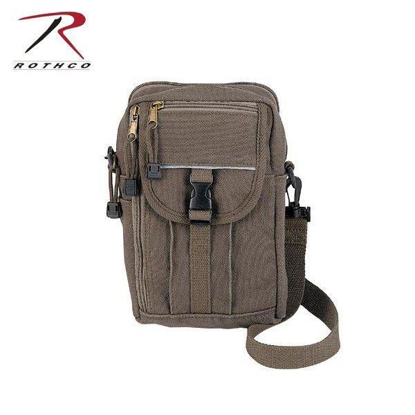 ミリタリーバッグ ROTHCO ロスコ クラシック パスポート トラベルポーチ 【9146】 ブランド【T】