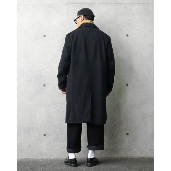 Schott ショット 7589 ソフトメルトン チェスターロングコート MADE IN USA メンズ アメリカ製 アメカジ アウター ロングコート ブランド【クーポン対象外】|waiper|04