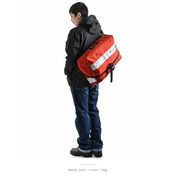 実物 イギリス ROYAL MAIL メッセンジャーバッグ ホワイトリフレクター 美品 ショルダーバッグ ロイヤルメール 【クーポン対象外】|waiper|05