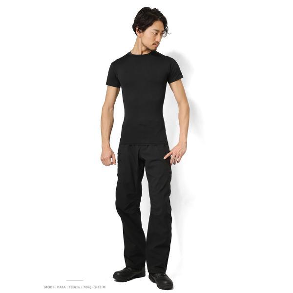 UNDER ARMOUR TACTICAL アンダーアーマー タクティカル HEAT GEAR COMPRESSION S/S Tシャツ 1216007 速乾 吸汗 ドライ 半袖 メンズ インナー|waiper|02