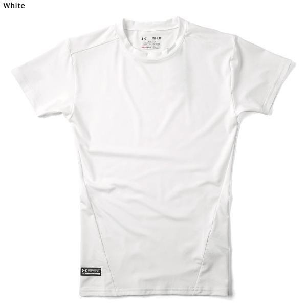 UNDER ARMOUR TACTICAL アンダーアーマー タクティカル HEAT GEAR COMPRESSION S/S Tシャツ 1216007 速乾 吸汗 ドライ 半袖 メンズ インナー|waiper|04
