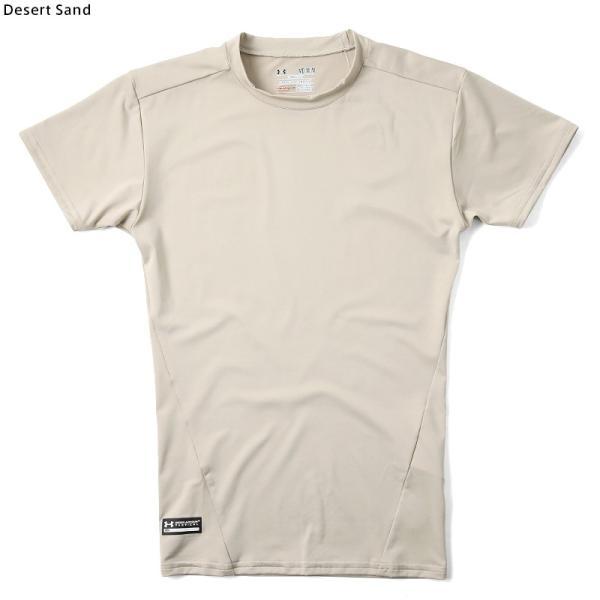 UNDER ARMOUR TACTICAL アンダーアーマー タクティカル HEAT GEAR COMPRESSION S/S Tシャツ 1216007 速乾 吸汗 ドライ 半袖 メンズ インナー|waiper|05