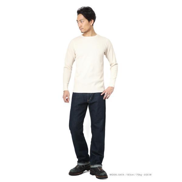 新品 米軍 コールドウェザーアンダーシャツ WAIPER.inc MADE IN USA メンズ サーマル Tシャツ ロンT ハニカムワッフル ミリタリー ブランド【Sx】|waiper|02