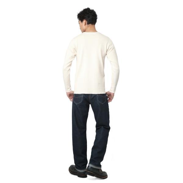 新品 米軍 コールドウェザーアンダーシャツ WAIPER.inc MADE IN USA メンズ サーマル Tシャツ ロンT ハニカムワッフル ミリタリー ブランド【Sx】|waiper|03