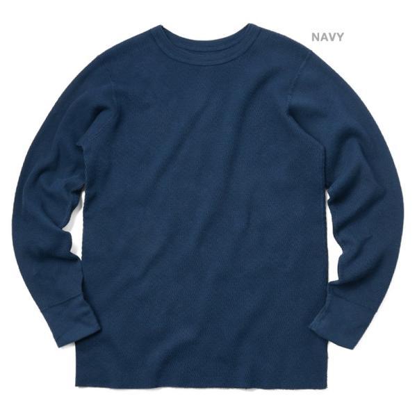 新品 米軍 コールドウェザーアンダーシャツ WAIPER.inc MADE IN USA メンズ サーマル Tシャツ ロンT ハニカムワッフル ミリタリー ブランド【Sx】|waiper|06