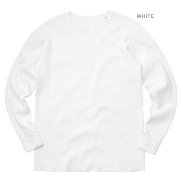 新品 米軍 コールドウェザーアンダーシャツ WAIPER.inc MADE IN USA メンズ サーマル Tシャツ ロンT ハニカムワッフル ミリタリー ブランド【Sx】|waiper|07