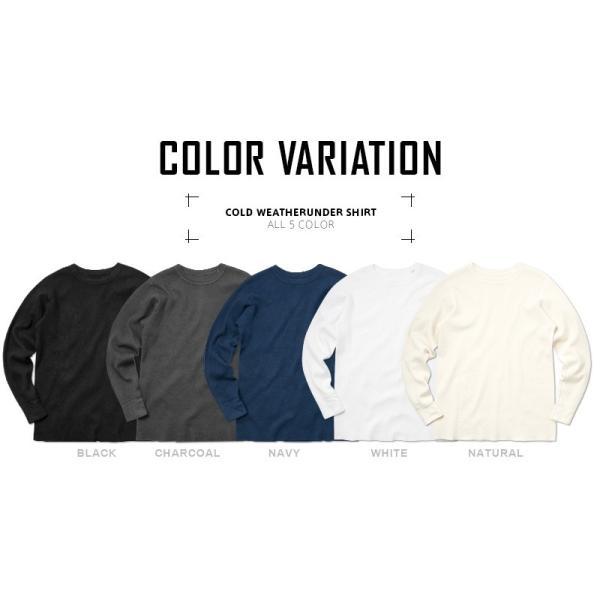 新品 米軍 コールドウェザーアンダーシャツ WAIPER.inc MADE IN USA メンズ サーマル Tシャツ ロンT ハニカムワッフル ミリタリー ブランド【Sx】|waiper|10