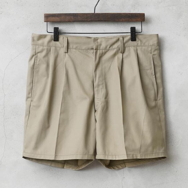 実物 新品 イタリア軍 AMI チノショートパンツ デッドストック メンズ ミリタリーパンツ ショーツ ハーフパンツ 半ズボン 短パン 半パン【Sx】