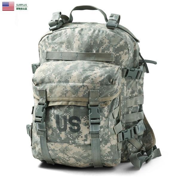 357c765a492e 実物 USED 米軍 MOLLE II 3DAY アサルトパック ACU メンズ ミリタリーバッグ バックパック デイパック ...