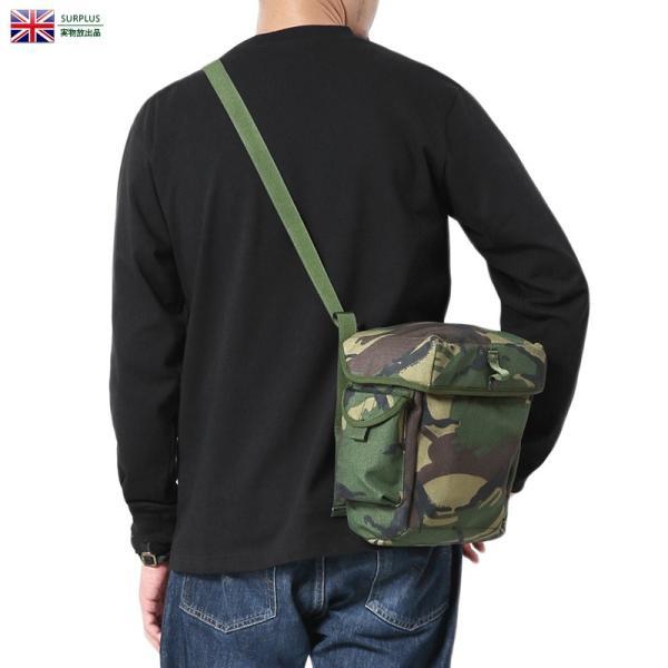 実物新品イギリス軍ガスマスクショルダーバッグDPMカモデッドストックメンズミリタリーバッグウエストバッグ迷彩カモ柄軍物 クーポン