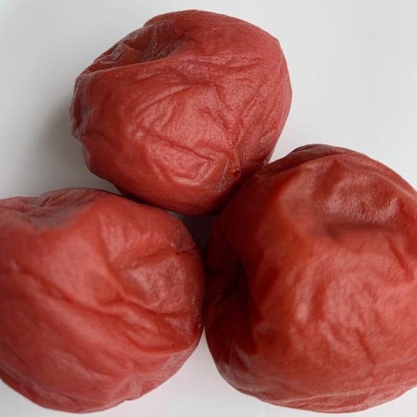 梅干し福井梅紅映無添加すっぱい梅干し完熟梅減塩塩分10%内容量450g