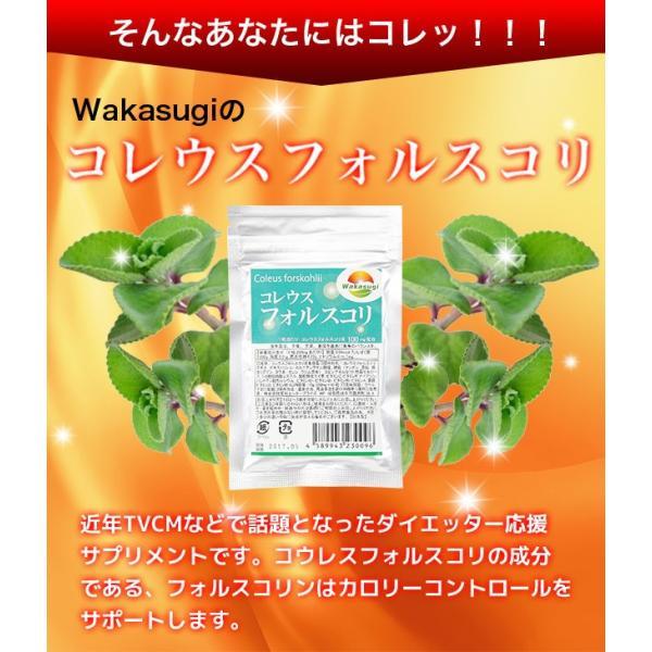 コレウスフォルスコリ  合計60粒 最大1カ月分|wakasugi2012|07