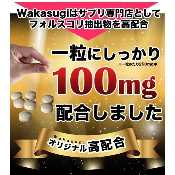 コレウスフォルスコリ  合計60粒 最大1カ月分|wakasugi2012|09