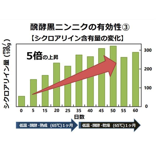 黒にんにく卵黄 ソフトカプセル 青森県産 福地ホワイト六片使用 30粒 メール便発送|wakasugi2012|11