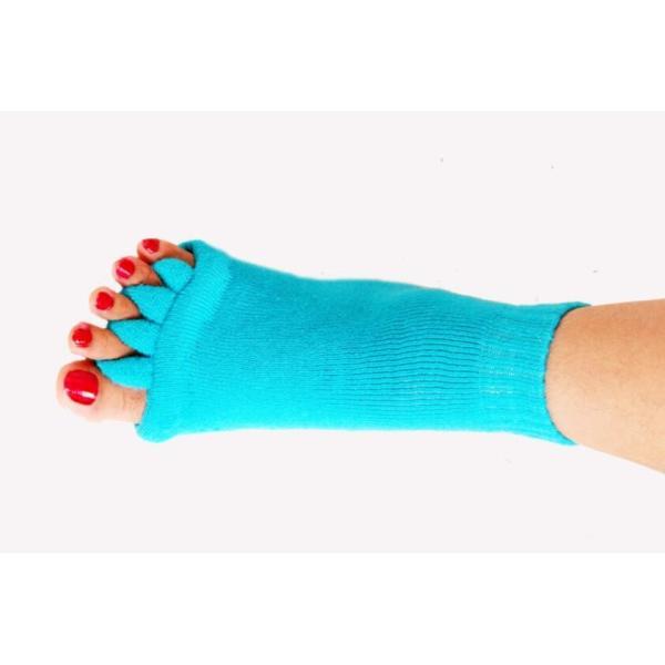 セラピーソックス 足指 スリーピングソックス 6色より選択可 ホワイト ブルー スカイブルー ピンク イエロー ブラック |wakasugi2012|08