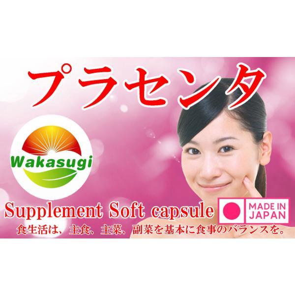 プラセンタ サプリメント 30粒 生カプセルタイプ メール便発送|wakasugi2012|06