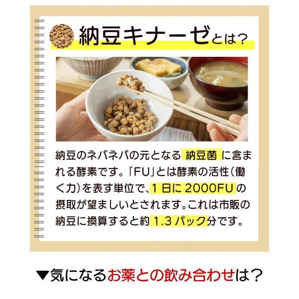 納豆サプリメント 熟生ナットウキナーゼ&レシチン 30粒 メール便発送|wakasugi2012|08