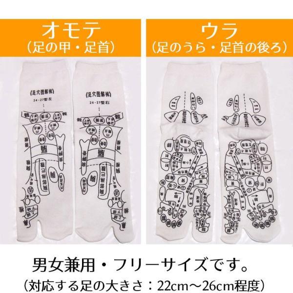 足つぼ靴下  足裏につぼをプリントしたユニークな靴下 22〜26cm|wakasugi2012|14
