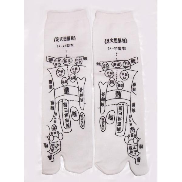 足つぼ靴下  足裏につぼをプリントしたユニークな靴下 22〜26cm|wakasugi2012|04