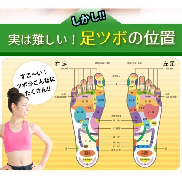 足つぼ靴下  足裏につぼをプリントしたユニークな靴下 22〜26cm|wakasugi2012|09