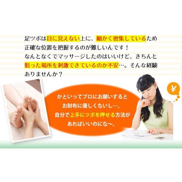 足つぼ靴下  足裏につぼをプリントしたユニークな靴下 22〜26cm|wakasugi2012|10