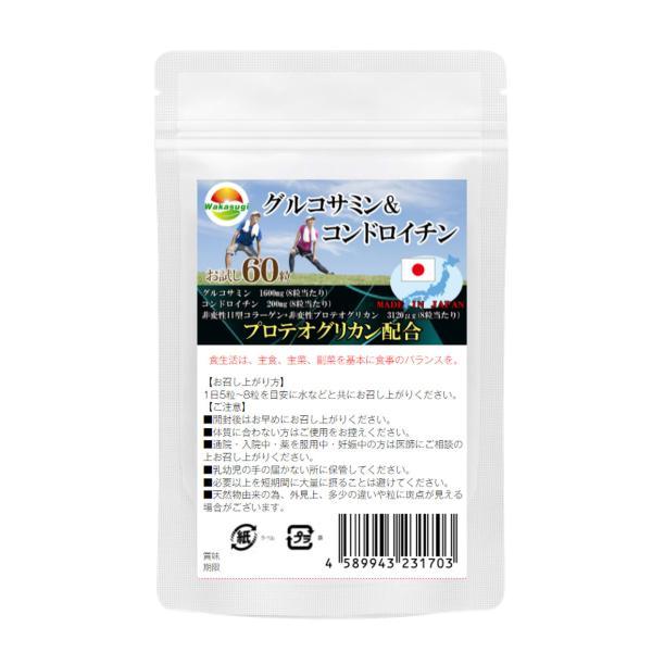 グルコサミン&コンドロイチン 90粒  メール便発送|wakasugi2012|06