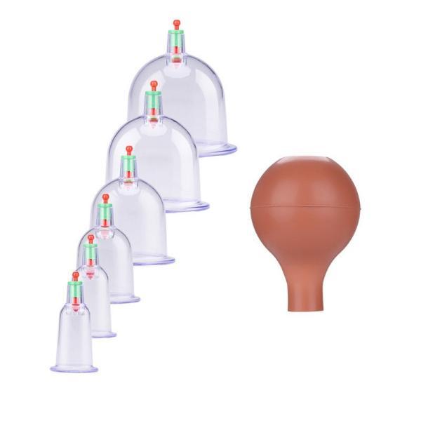 カッピング 吸い玉カップ6種 吸引ポンプ付|wakasugi2012|03