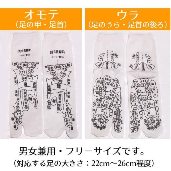 足ツボ靴下 オカリナ型カッサ付き 足つぼおしソックス  反射区靴下|wakasugi2012|16