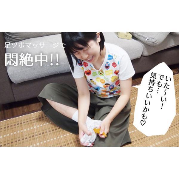 足ツボ靴下 オカリナ型カッサ付き 足つぼおしソックス  反射区靴下|wakasugi2012|18