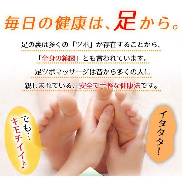 足ツボ靴下 オカリナ型カッサ付き 足つぼおしソックス  反射区靴下|wakasugi2012|07