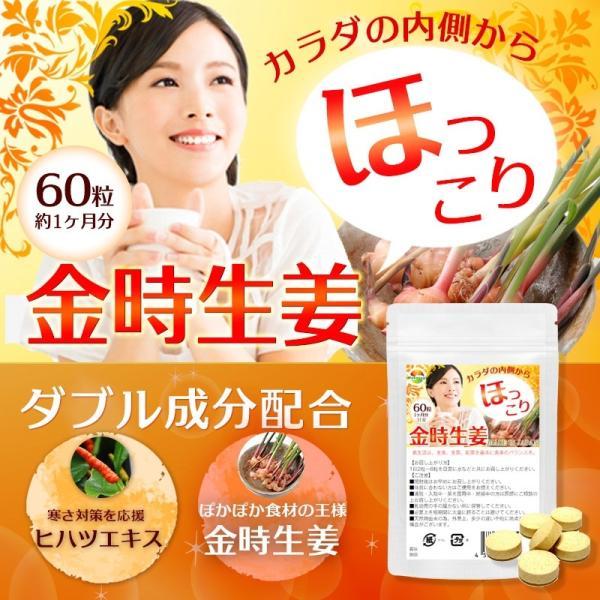 金時生姜 サプリメント 60粒  |wakasugi2012|06