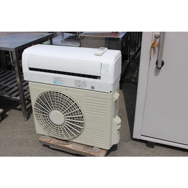 wz4393 日立 ルーム エアコン 28 RAS-M28ZE7 冷暖房 主に10畳用 中古 2010年製 100V50/60HZ 厨房 飲食店 業務用 厨ボックス