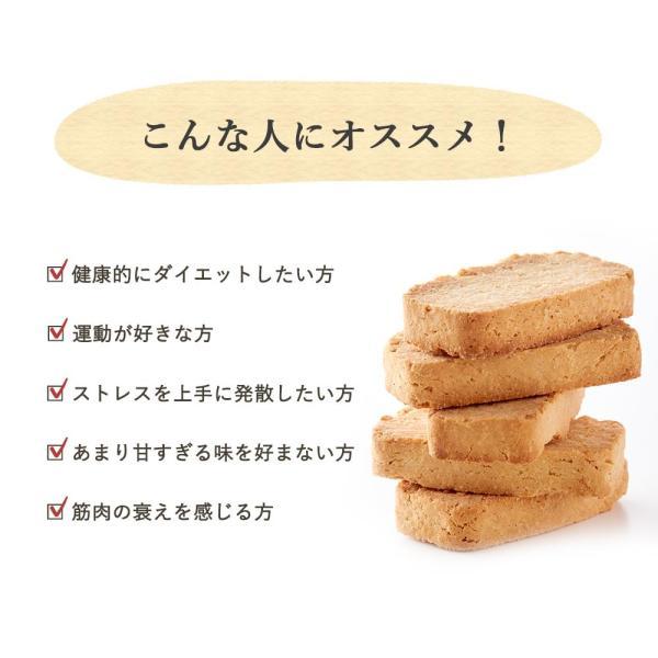 プロテイン 豆乳 おからクッキー チャック付き 500g (500g×1袋) 訳あり食品 わけあり スイーツ メール便A TSG TN wakeariya 06