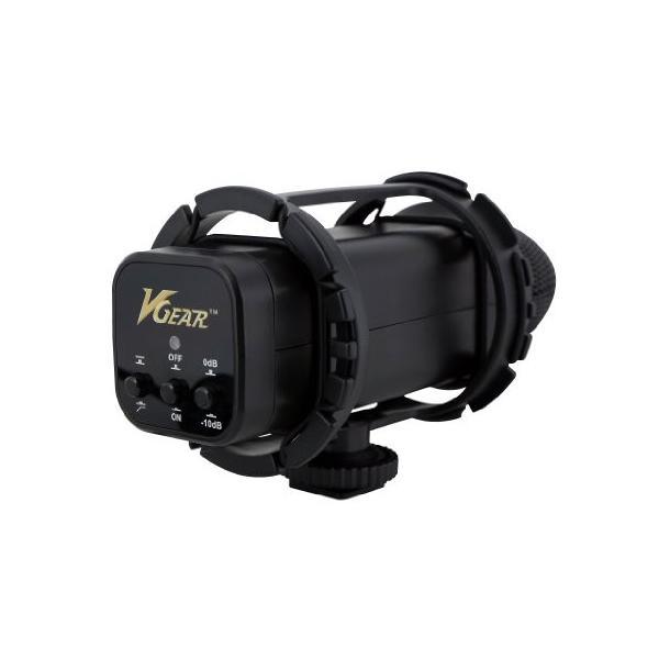 カメラ専用マイク Vギアー VGEAR VGMIC Stereo Video Microphone with Wind Screen for DSLR and VDSLR