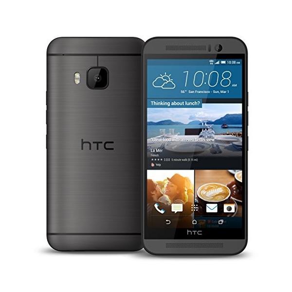 HTC One M9 4G LTE (5inch/オクタコア/3GB RAM / 32GB ROM ) (Gray グレー 灰)