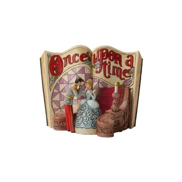 Enesco Disney Traditions by Jim Shore Cinderella Storybook Figurine, 6-Inch
