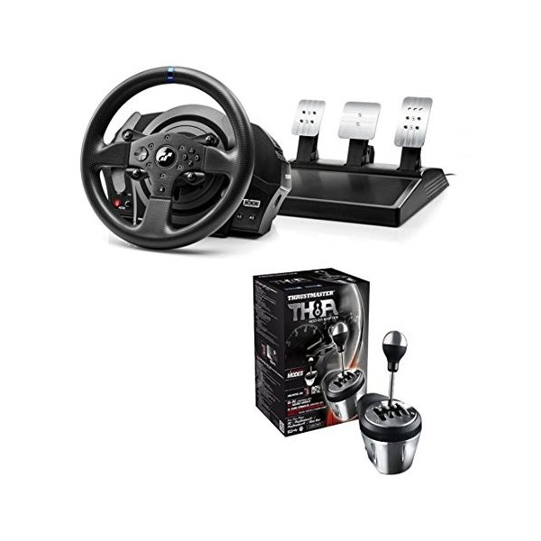 Thrustmaster T300RS GT Racing Wheel+ ThrustmasterTH8A Shifter セット販売