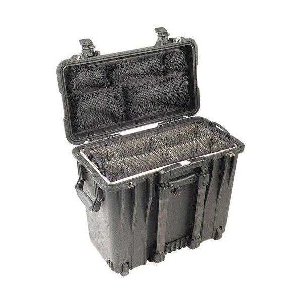 Pelican 1440 Case with Utility Padded Divider and Lid Organizer