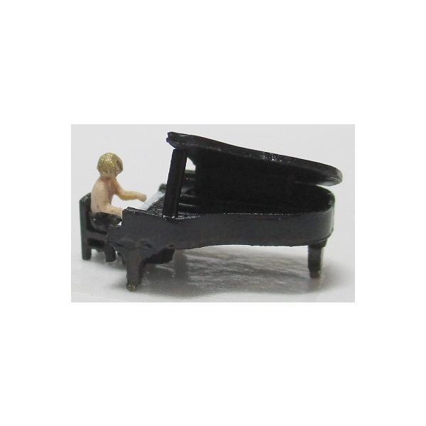 1/150情景アクセサリーグランドピアノ YSK  鉄道模型  カラーレジン製  Nゲージ  ネコポス可