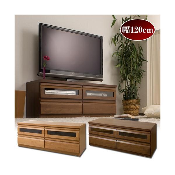 組み合わせてお部屋の隅を有効活用できる天然木テレビボード