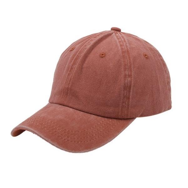 帽子 キャップ ローキャップ カーブキャップ メンズ レディース 種類 おしゃれ 無地  春 サイズ ストラップ調整 wakufuri 10