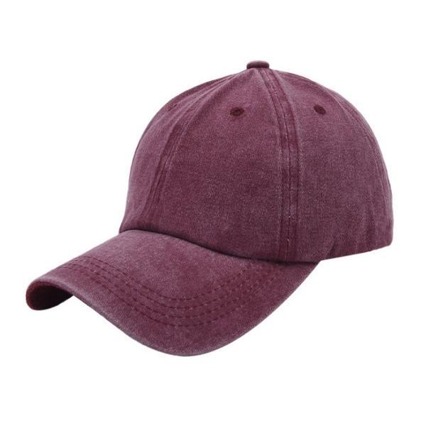 帽子 キャップ ローキャップ カーブキャップ メンズ レディース 種類 おしゃれ 無地  春 サイズ ストラップ調整 wakufuri 16