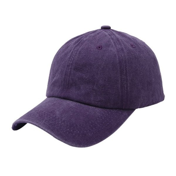 帽子 キャップ ローキャップ カーブキャップ メンズ レディース 種類 おしゃれ 無地  春 サイズ ストラップ調整 wakufuri 09