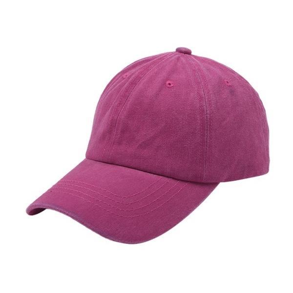 帽子 キャップ ローキャップ カーブキャップ メンズ レディース 種類 おしゃれ 無地  春 サイズ ストラップ調整 wakufuri 17